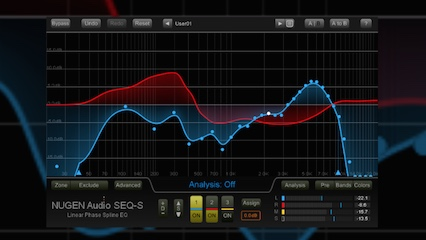 スタッフ H | スタッフルーム:チート系プラグイン?  先日リリースされたNugen Audioの新しいEQ、SEQ-S。普通のEQともっとも異なる点が「他のソースの特性を解析して、EQカーブを自動生成する」こと。公開直後にはじつに様々な反応がありました。「そんなのずるい、経験がなくても、誰でもイイEQが作れるじゃないか」とか…様々な反応を見ていたときに、過去にもこういった両極端の反応を頂いた製品があったなぁと思い出しました。